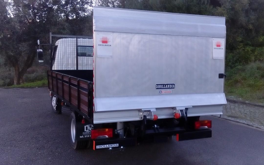 Caixa Aberta e Plataforma Elevatória DH-LC 10 de 750 kg